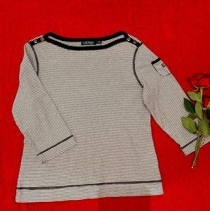 Ralph Lauren boatneck blouse